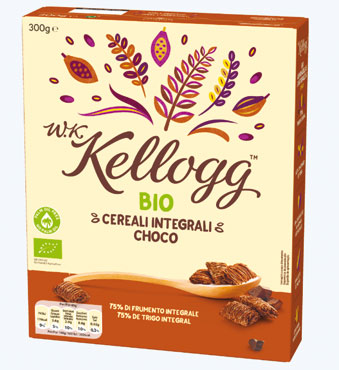 Cereali WK Kellog's vari tipi 300 g