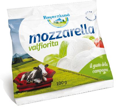 Mozzarella Valfiorita busta 100 g