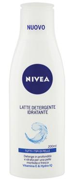 Linea pulizia viso/creme idratanti base Nivea
