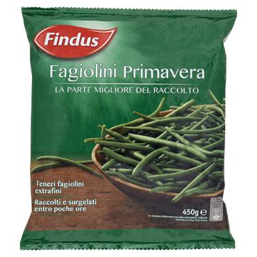Fagiolini Primavera Findus 450 g