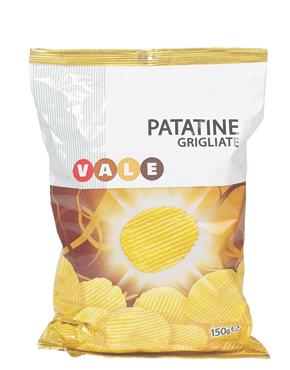 PATATINE GRIGLIATE GR.150  VALE