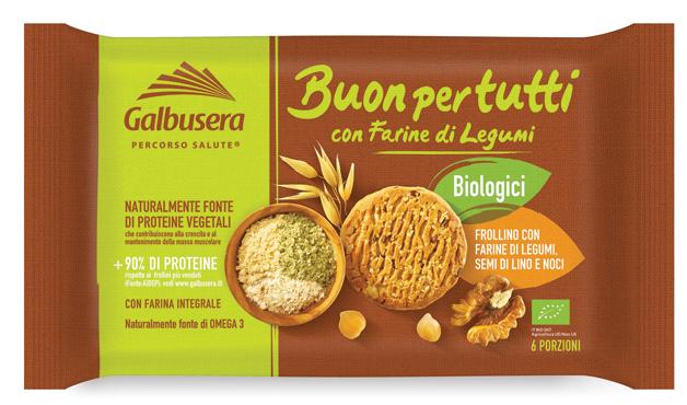 Frollini Bio Buon per Tutti Galbusera 260 g