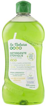 Detersivo piatti concentrato limone eco Vale 500 ml