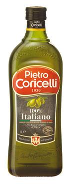 Olio extra vergine 100% italiano Coricelli 1l