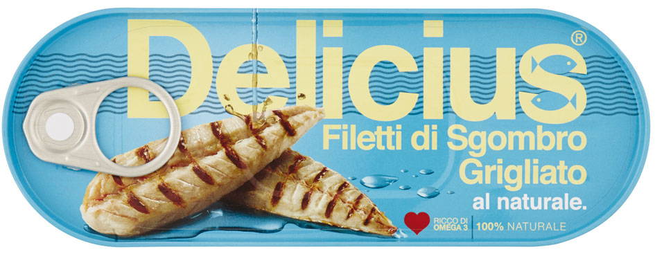 Filetto Sgombro Grigliato Delicius vari tipi 110 g