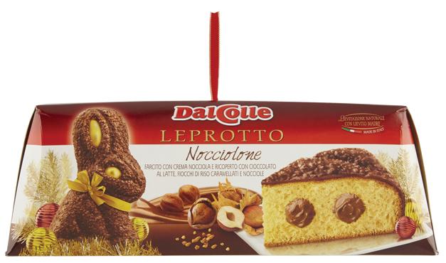Leprotto Nocciolone Dal Colle 750 g