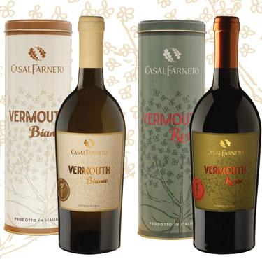 Vermouth Bianco/Rosso Casalfarneto 75 cl