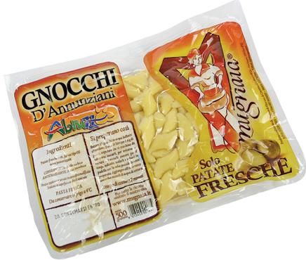 Gnocchi D'annunziani Pastificio Mugnaia di Elice 500 g