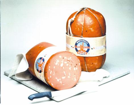 Mortadella Bologna IGP Due Torri Alcisa al kg
