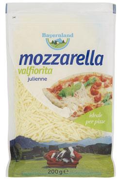 Mozzarella julienne Bayernland 200 g