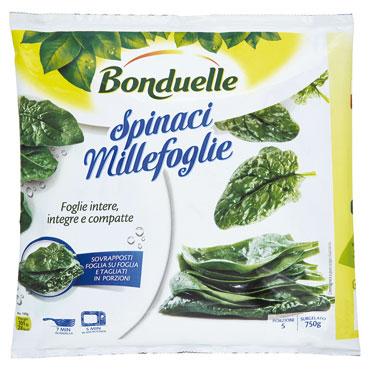 Spinaci Millefoglie Bonduelle 750 g