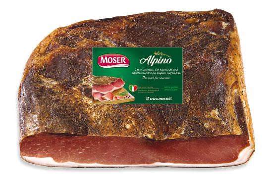 Speck nazionale tradizionale Moser al kg