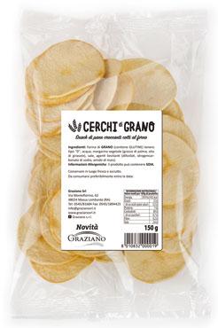 Cerchi di grano Graziano vari gusti 150 g