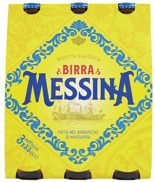 Birra Messina 3 x 33 cl/Birra Messina cristalli di sale 50 cl