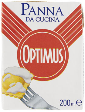 Panna cucina optimus 200 ml