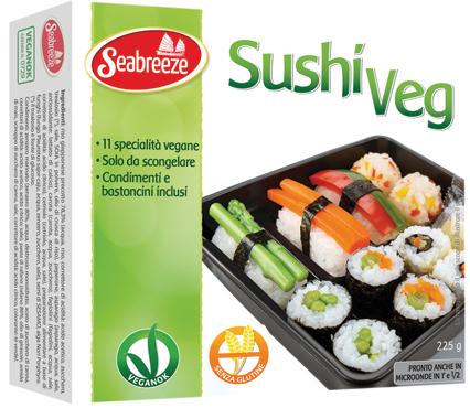 Sushi Veg & Sweet Seabreeze confezione 225 g