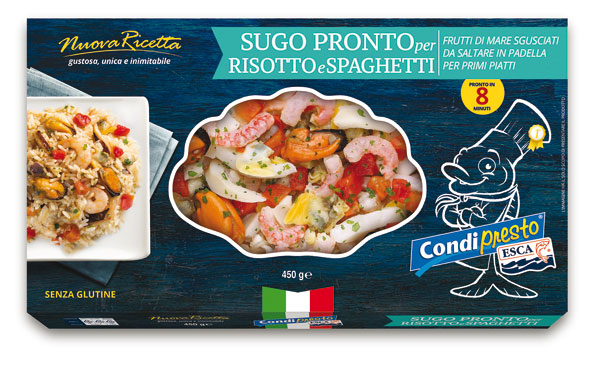 Sugo pronto per risotti/spaghetti Esca 450 g