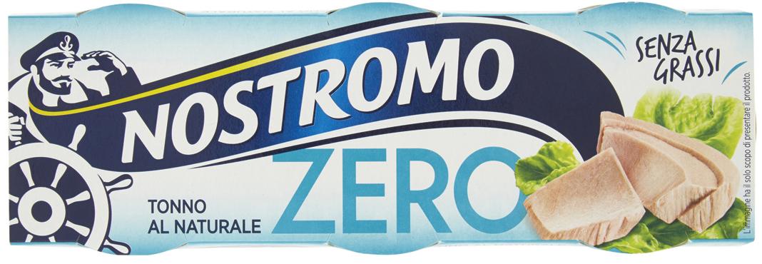 Tonno Naturale Zero Nostromo 3 x 65 g