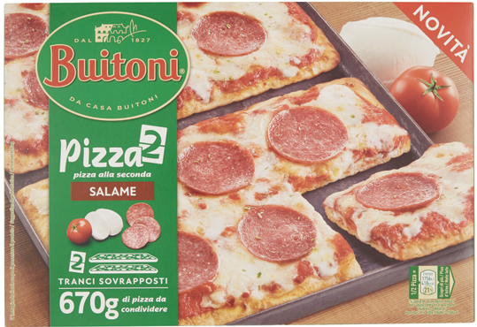 Pizza alla seconda Buitoni vari gusti 660/670 g