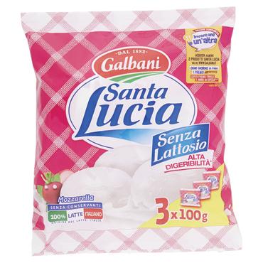Mozzarella Santa Lucia senza/lattosio 3 x 100 g