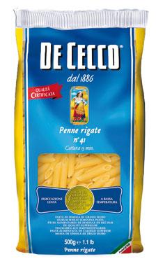 Pasta di semola De Cecco formati classici 500 g