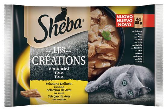 Sheba Creazioni vari gusti 4 x 85 g