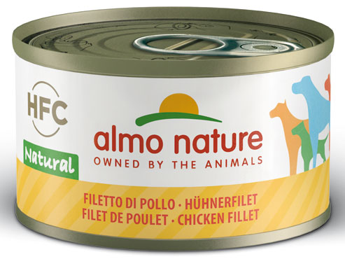 Alimento umido cani/gatti Almo Nature vari gusti 95/70 g