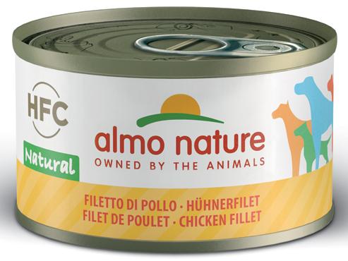 Alimento umido cani Almo Nature vari gusti 95 g