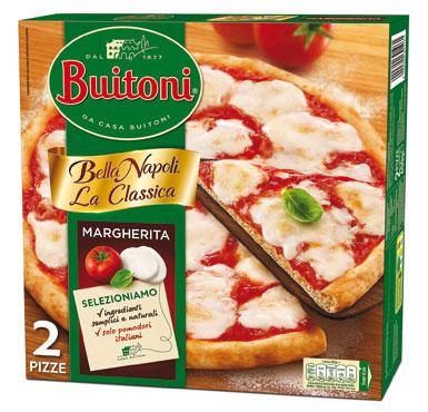 Pizza Bella Napoli Buitoni x 2 650 g