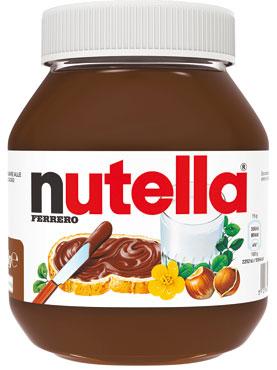 Nutella Ferrero 750 g