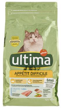 Ultima Cat sterilizzato pollo/appettito difficile 1,5 kg