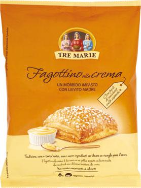 Fagottino crema/cornetto 5 cereali Tre Marie 438/390 g