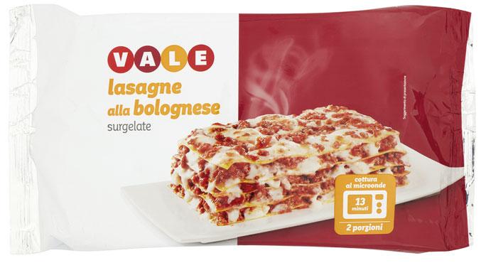 Lasagne alla bolognese Vale 500 g