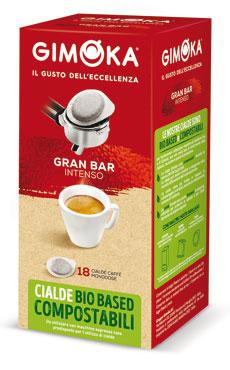 Cialde caffe' Gimoka vari tipi x18 126 g