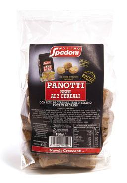 Panotti Spadoni 7 cereali/curcuma 180 g