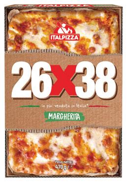 Pizza 26x38 Italpizza vari gusti 470/525/560 g