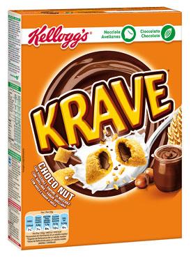 Choco Krave Kellogs vari gusti 375 g