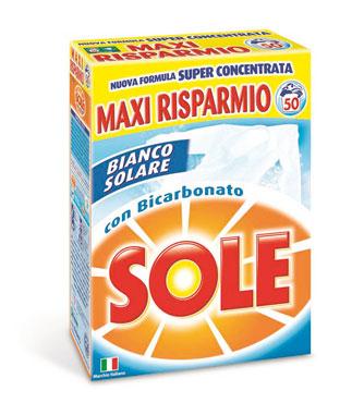 Sole Lavatrice Polvere 50 misurini