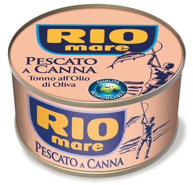 Tonno Rio Mare olio di oliva pescato a canna 100 g