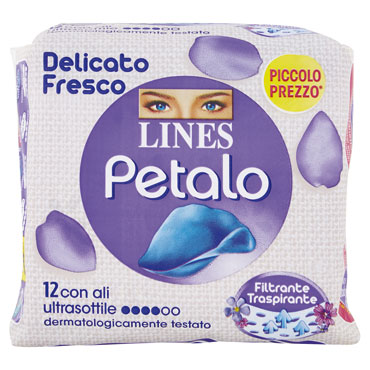 Assorbenti Lines Petalo Blu vari tipi