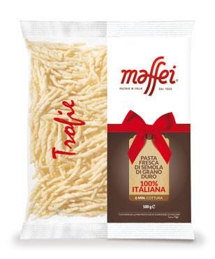 Pasta di semola fresca Maffei vari tipi 500 g