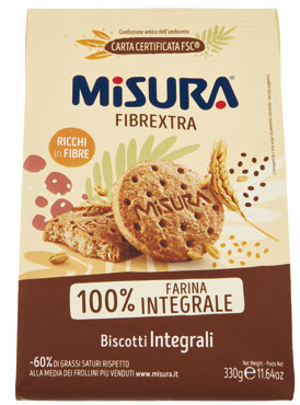 Biscotti Misura integrali/cereali/soia 330 g