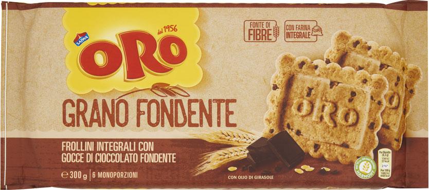 Oro Saiwa senza zucchero/granofondente/cereali 300 g