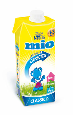 Latte per la crescita Mio Nestle' 500 ml