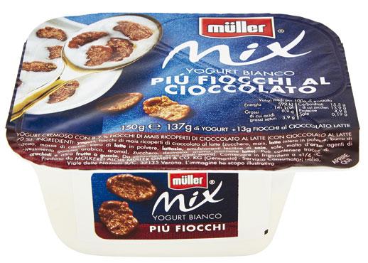Yogurt Muller Mix vari gusti 120/150 g