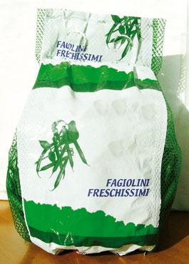 Fagiolini borsa  500 g al pz
