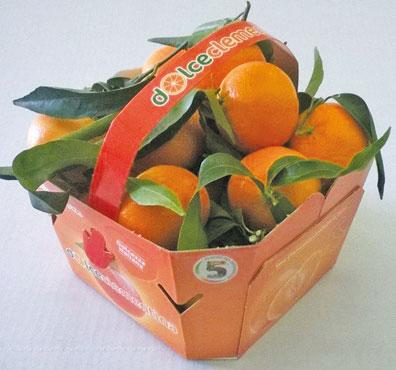 Dolceclementina 5 colori del benessere cestino 1,5 Kg, al kg