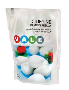 Mozzarelle Ciliegine Vale 150 g