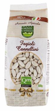 Fagioli Cannellini azienda agricola Montecastello Qualita' Marche 500 g,al pz