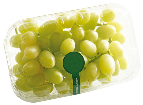 Uva bianca senza semi 500g al pz